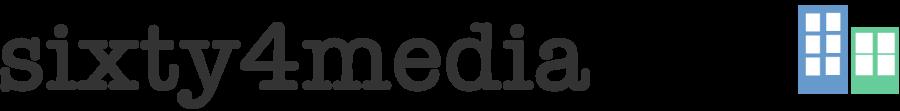 sixty4media Logo